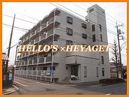東京都羽村市五ノ神3丁目の賃貸マンションの外観