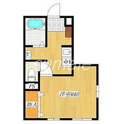 プランドール21[1階]の間取り