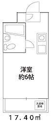 ドーミー小平[3階]の間取り
