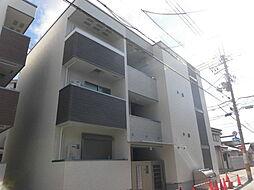 大阪府吹田市日の出町の賃貸アパートの外観