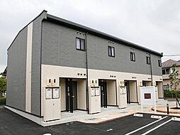 愛知県豊田市五ケ丘7丁目の賃貸アパートの外観