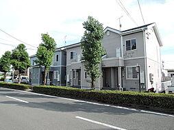 滋賀県高島市新旭町旭1丁目の賃貸アパートの外観