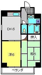 第10Z西村ビル[703号室]の間取り
