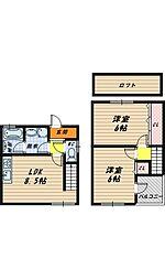 ミラン今福[2階]の間取り
