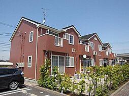 愛知県岡崎市中島町字紅蓮の賃貸アパートの外観