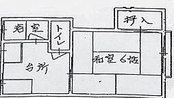 七福荘[101号室]の間取り
