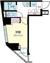 プレール日本橋壱番館[2階]の間取り