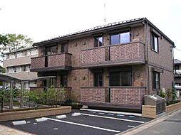 東京都練馬区高松6丁目の賃貸アパートの外観