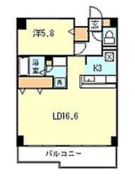 第一寿美家ビル[3階]の間取り