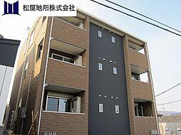 愛知県田原市加治町東取手の賃貸アパートの外観