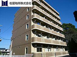 愛知県豊橋市小松町の賃貸マンションの外観