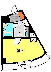 パレ・ドール鶴ヶ峰[2階]の間取り