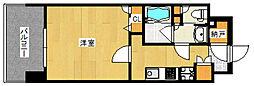 BOA VISTA博多駅[5階]の間取り