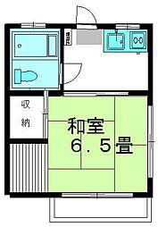 月山荘[2階]の間取り