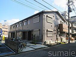 東京都北区昭和町2丁目の賃貸アパートの外観