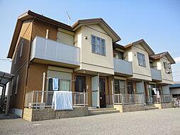 滋賀県長浜市加納町の賃貸アパートの外観