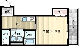 サンドリームIII[2階]の間取り