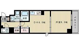 パークライフESAKA[3階]の間取り
