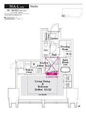 ラ・トゥール新宿グランド[5階]の間取り