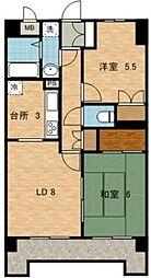 セントエミネンス[3階]の間取り