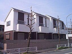 神奈川県横浜市青葉区さつきが丘の賃貸アパートの外観