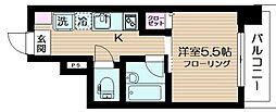 ナカヤマビルディング[3階]の間取り