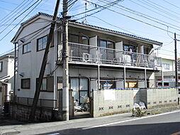 埼玉県狭山市中央4丁目の賃貸アパートの外観