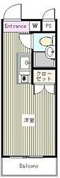 メインステージ中井駅前[5階]の間取り