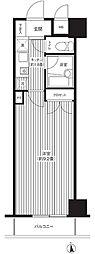 タイムズコート白金[4階]の間取り