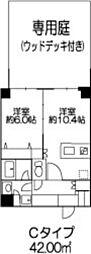 ヒューリックレジデンス参宮橋[1階]の間取り