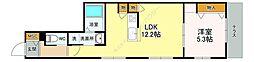 仮)西川口2丁目メゾン 1階1LDKの間取り