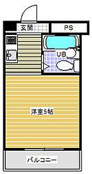 バイタル稲城ビル[4階]の間取り