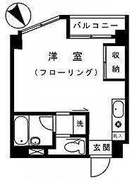 パインコート三軒茶屋[1階]の間取り