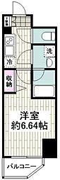 SHOKEN Residence横浜BAYSIDE 3階1Kの間取り