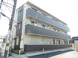 東京都東村山市美住町1丁目の賃貸アパートの外観