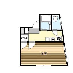 横浜元町ガーデンI[201号室]の間取り