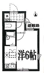 Amax世田谷[4階]の間取り