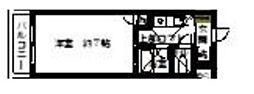 Tea-room大成 1階1Kの間取り