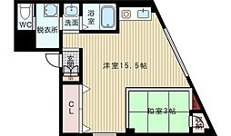 UEDA BLD[2階]の間取り