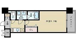スプランディッド新大阪III[5階]の間取り