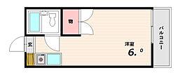 サンビレッジ板宿[2階]の間取り