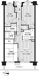 KS桜川[3階]の間取り