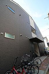 大阪府東大阪市小若江1丁目の賃貸アパートの外観