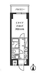 レジディア新御茶ノ水[3階]の間取り