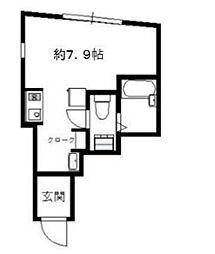 SBFコート渋谷本町[-1階]の間取り