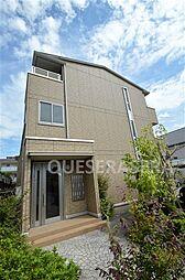 大阪府箕面市稲1丁目の賃貸マンションの外観