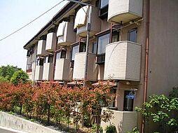 東京都日野市南平3丁目の賃貸マンションの外観