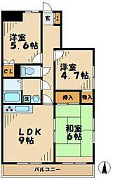 ステータスヒル寿岳[4階]の間取り