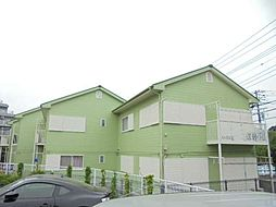 神奈川県横浜市港南区日野中央2丁目の賃貸アパートの外観