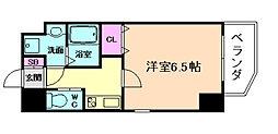 ララプレイス京町堀プロムナード[6階]の間取り